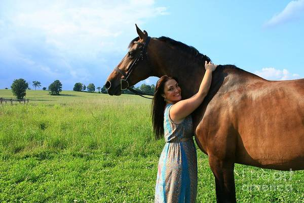 Photograph - Melissa-millie37 by Life With Horses