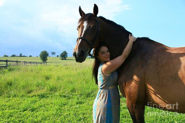 Photograph - Melissa-millie38 by Life With Horses