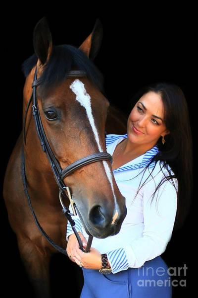 Photograph - Melissa-millie4 by Life With Horses
