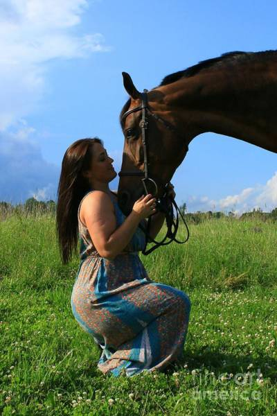 Photograph - Melissa-millie42 by Life With Horses