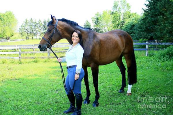 Photograph - Melissa-millie9 by Life With Horses