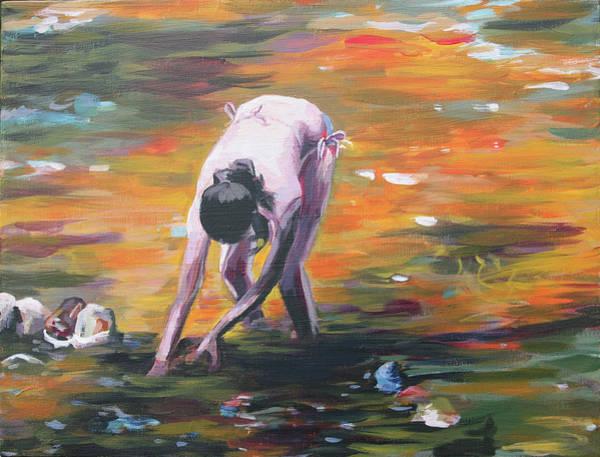Painting - Melissa Riverside by Trina Teele