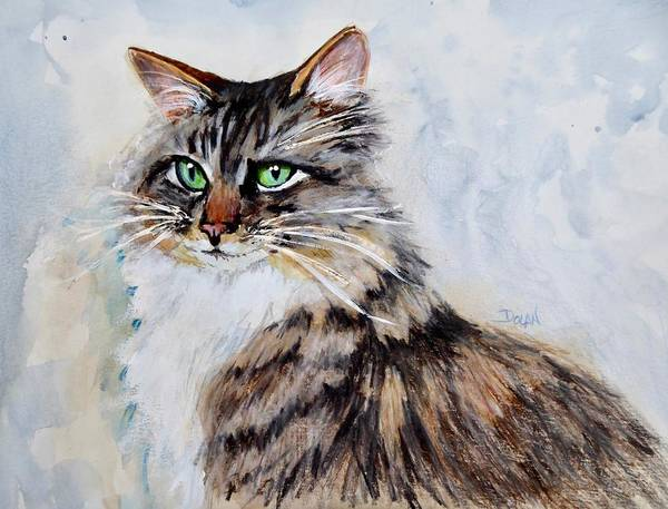 Painting - Melissa's Cat by Pat Dolan