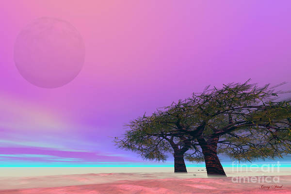 Hallucination Painting - Mellow by Corey Ford