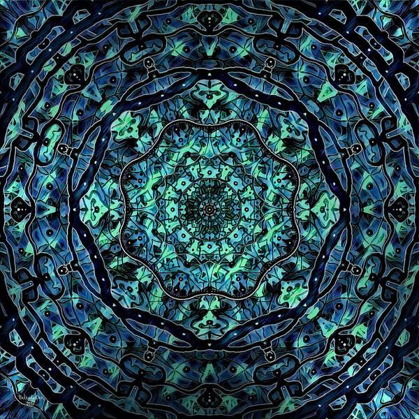 Digital Art - Mellow Mandala by Artful Oasis