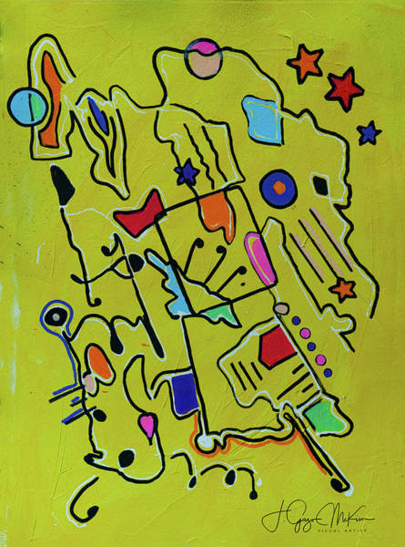 Painting - Mellow Yellow 2 by Jo-Anne Gazo-McKim
