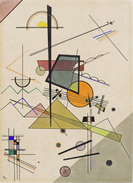 Wall Art - Painting - Melodisch by Wassily Kandinsky