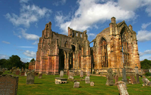 Photograph - Melrose Abbey by Robert Och