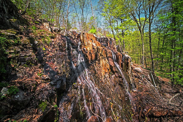 Photograph - Melrose Ma Cascade Falls Waterfall by Toby McGuire