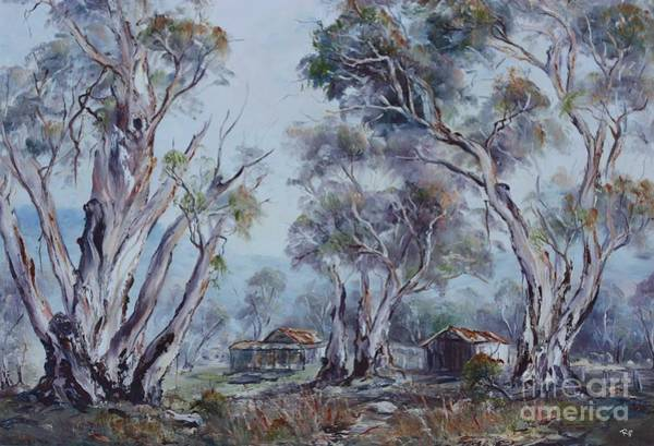 Painting - Melrose, South Australia by Ryn Shell