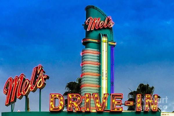 Photograph - Mels Drive In by Gary Keesler