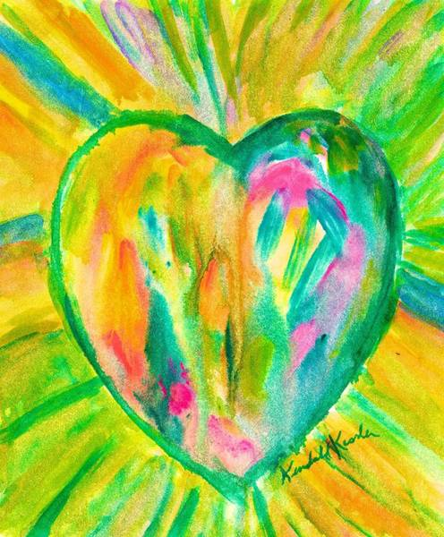 Painting - Melting Heart by Kendall Kessler