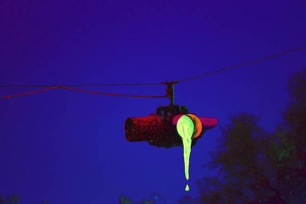 Neon Pink Photograph - Crossroads by Marnie Patchett