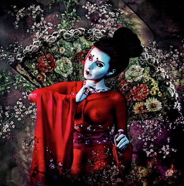 Geisha Mixed Media - Memoirs Of A Geisha 002 by G Berry
