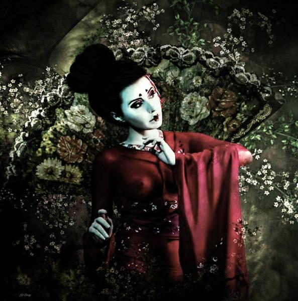 Geisha Mixed Media - Memoirs Of A Geisha by G Berry