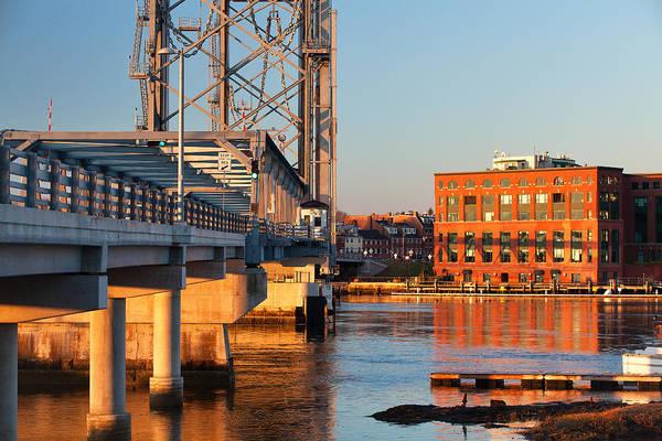 Wall Art - Photograph - Memorial Bridge At Sunrise by Eric Gendron