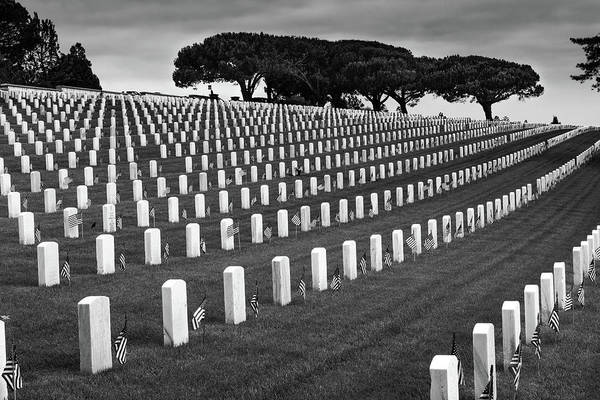 Photograph - Memorial Day 2016 - Fort Rosecrans by TM Schultze