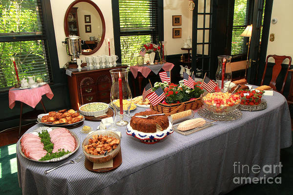 Photograph - Memorial Day Brunch by Geoff Crego