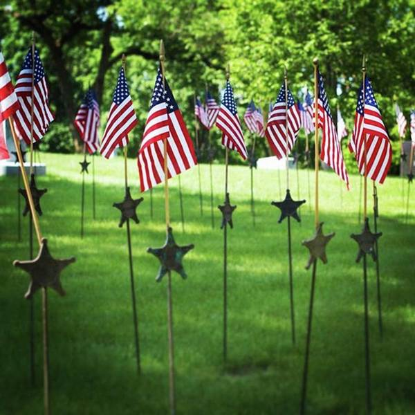 Landmark Wall Art - Photograph - Memorial Day In America by Heidi Hermes