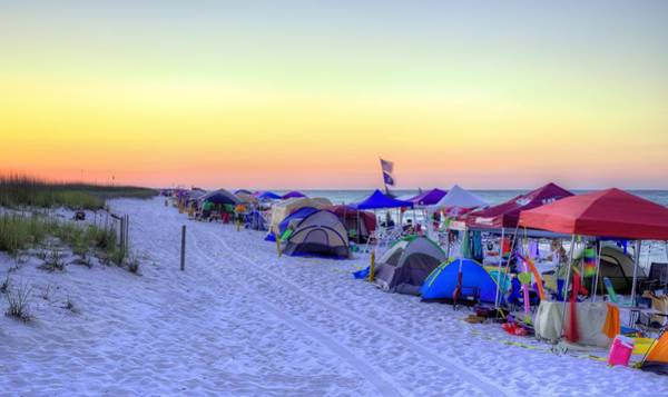Wall Art - Photograph - Memorial Day In Pensacola Beach by JC Findley