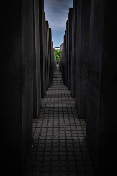 Photograph - Memorial For The Murdered Jews Of Europe by Framing Places