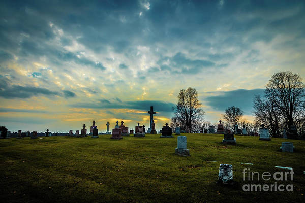 Photograph - Memorial Sunset by Roger Monahan