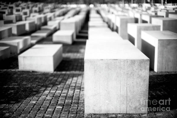 Wall Art - Photograph - Memorial To The Murdered Jews Of Europe In Berlin by John Rizzuto