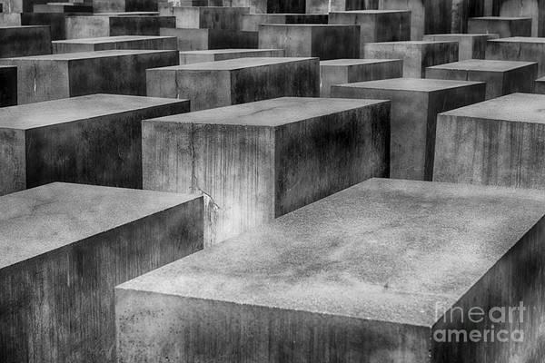 Photograph - Memorial To The Murdered Jews Of Europe by Teresa Zieba