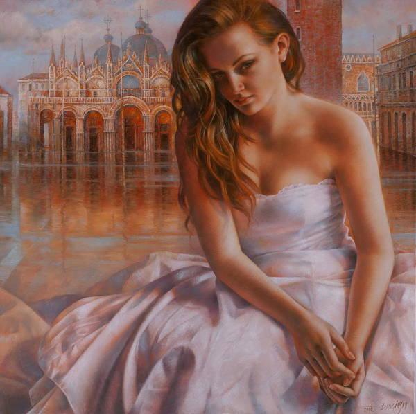 Venezia Painting - Memories by Arthur Braginsky