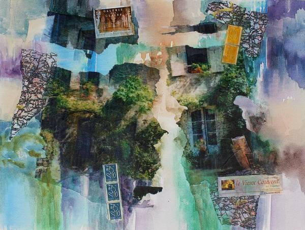 Painting - Memories Of Le Vieux by Tara Moorman