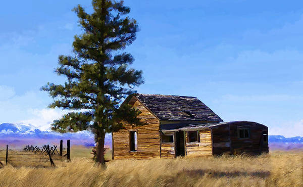 Painting - Memories Of Montana by Susan Kinney