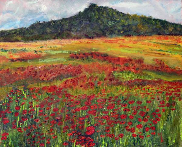 Memories Of Provence Art Print