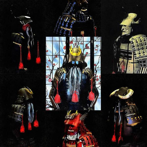Photograph - Memories Of Samurai Collage by Dorothy Berry-Lound