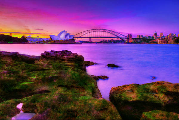Wall Art - Photograph - Memories Of Sydney 1 by Midori Chan
