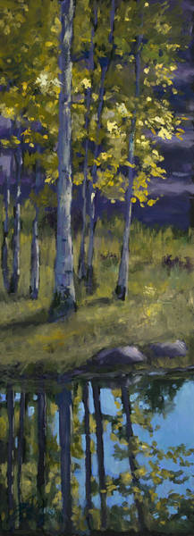 Wall Art - Painting - Memories Of Vienstenz-smith Mountain Park by Billie Colson