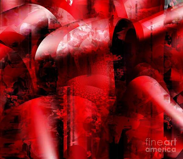 Description Digital Art - Memories Of Wars And Gifts Of Freedom by Fania Simon