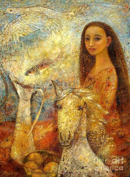 Painting - Memories by Shijun Munns