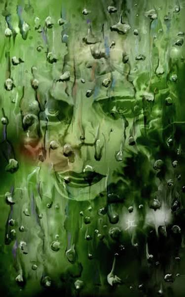 Digital Art - Memory In The Rain by Darren Cannell