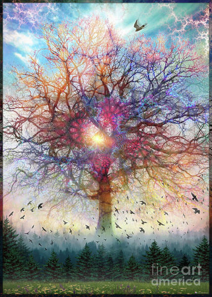 Digital Art - Memory Of A Tree by Leonard Rubins