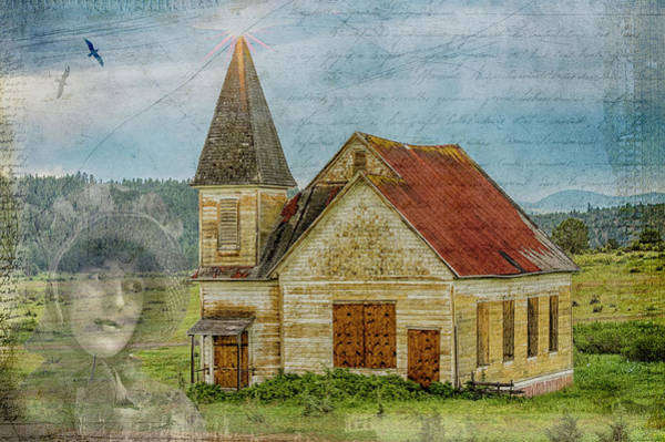 Wall Art - Photograph - Memory Of The Old Church by John Trax