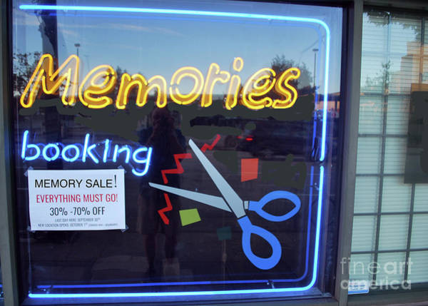 Photograph - Memory Sale by Bill Thomson