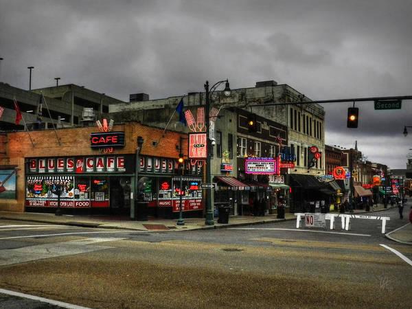 Photograph - Memphis - Beale Street 002 by Lance Vaughn