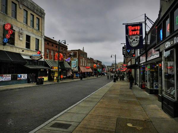 Photograph - Memphis - Beale Street 004 by Lance Vaughn