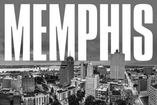 Memphis Grizzlies Digital Art - Memphis Cityscape by David Richardson