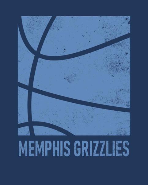 Memphis Grizzlies Wall Art - Mixed Media - Memphis Grizzlies City Poster Art 2 by Joe Hamilton