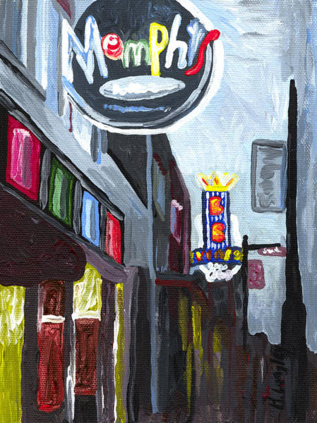 Memphis Painting - Memphis by Helena M Langley