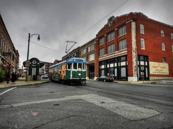 Wall Art - Photograph - Memphis - Main Street Trolley 005 by Lance Vaughn