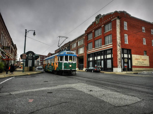 Photograph - Memphis - Main Street Trolley 005 by Lance Vaughn