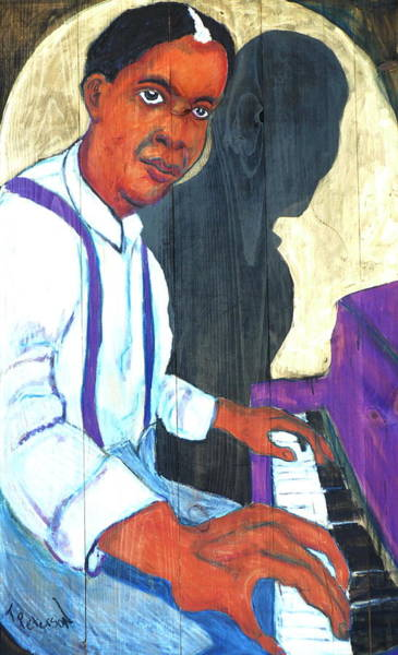 Painting - Memphis Slim by Todd  Peterson