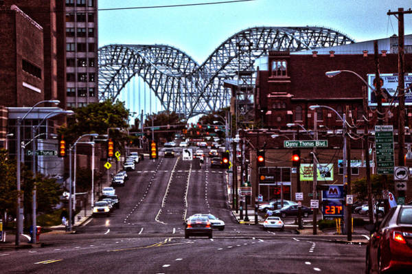 Photograph - Memphis Tennessee Bridge by Lesa Fine